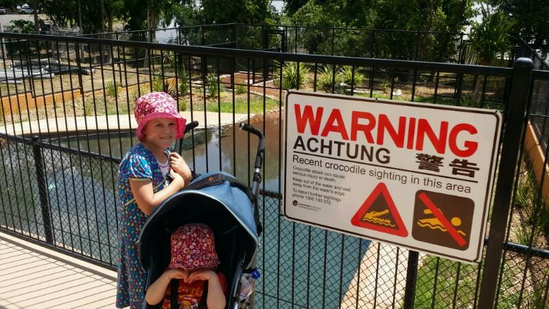 Rockhampton – Krokodile, Kängurus und 40 Grad