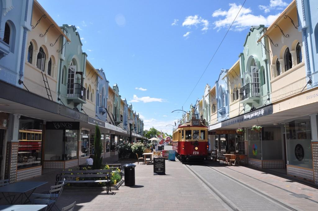 Neuseeland Christchurch: Caroline Bay, Timaru: Ein Bisschen Hamburg