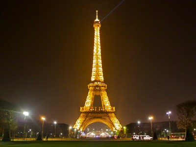 First Time Paris Eiffel Tower